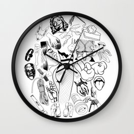 Smut Wall Clock
