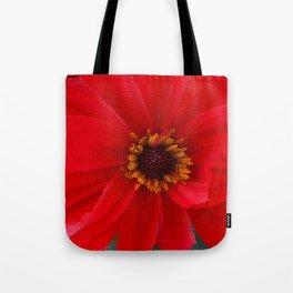 Scarlet Red Tote Bag