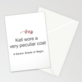 Kell's Coat Quote - A Darker Shade of Magic Stationery Cards