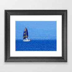 South sea, Fiji Framed Art Print