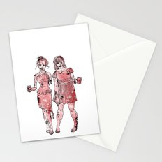 Zombie Bridesmaids Stationery Cards