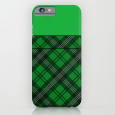 Scottish Plaid (Tartan) - Green Slim Case iPhone 6s