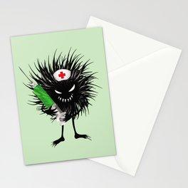 Evil Bug Nurse With Syringe Stationery Cards