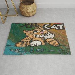 CULT ICON, FRITZ THE CAT by DAVID C*J BUNN Rug