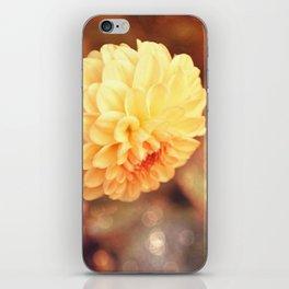 Autumn dahlia iPhone Skin