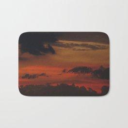 A Sky On Fire - 2 Bath Mat