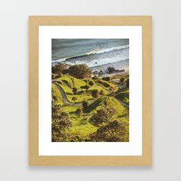 Morning Run Framed Art Print