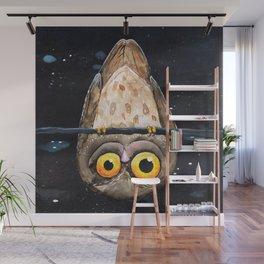 Upside down owl Wall Mural