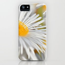 Marquerite white yelow 02 iPhone Case