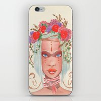 maori iPhone & iPod Skins featuring Maori by KK Twiice Key