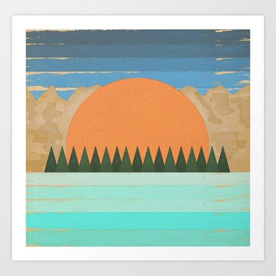 The Scenic View 2 Art Print