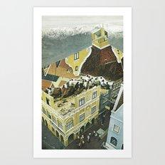 Holland Tourists Art Print