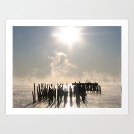 Bay Fog 2 Art Print
