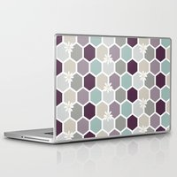 honeycomb Laptop & iPad Skins featuring Honeycomb by Kathrin Legg