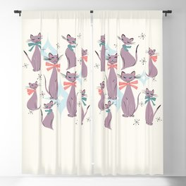 A Captivating Catalogue Of Classy Cats Blackout Curtain