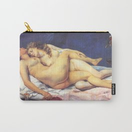 The Sleepers - Gustave Courbet Carry-All Pouch