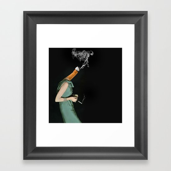 personal assassin Framed Art Print