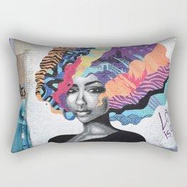 Love Is Color Rectangular Pillow
