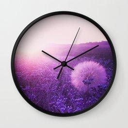 Indigo wish Wall Clock