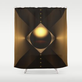 Tension and Duress Shower Curtain