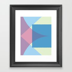 Cacho Shapes XCIX Framed Art Print