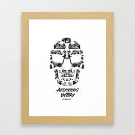 Kitten Skull Framed Art Print