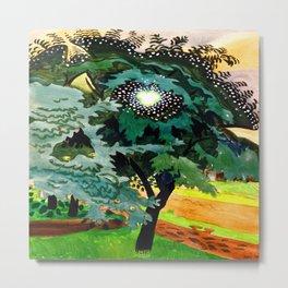 Charles Burchfield Luminous Tree Metal Print
