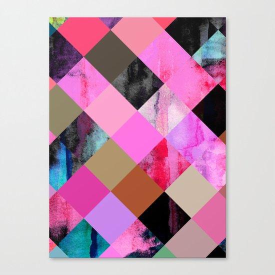 colour + pattern 14 Canvas Print