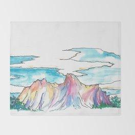 Mt Wilson Throw Blanket