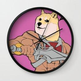 Much POWER! Wall Clock