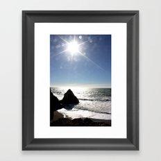 Crystaline Framed Art Print