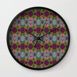Gypsy Flower Wall Clock