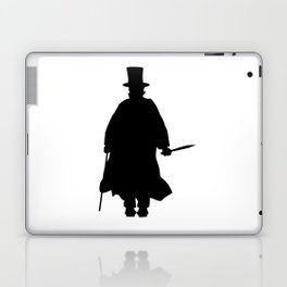 Jack the Ripper Silhouette Laptop & iPad Skin
