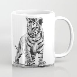 Baby tiger cub pose Coffee Mug
