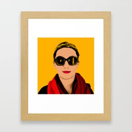 dfgdfsg Framed Art Print