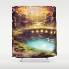 Within the Mesas Shower Curtain