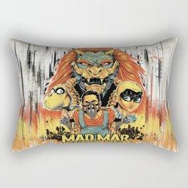 Mad Mar: Rainbow Road Rectangular Pillow