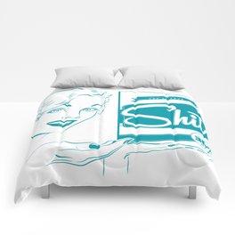 Shit!  Comforters