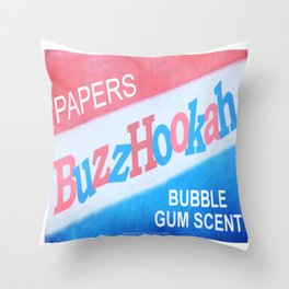 BuzzHookah - 011 Throw Pillow