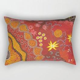 Aboriginal summer Rectangular Pillow