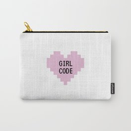 GIRL CODE Carry-All Pouch