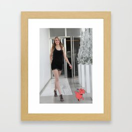 tHe Mixte Framed Art Print