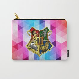 HOGWARTS ABSTRACT TRIANGLE Carry-All Pouch