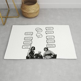 Princess Bride Peanut Rhyme Rug