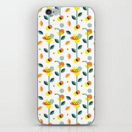 Wonderland floral illustration pattern creative design interior design iPhone Skin