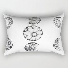 Phases Of The Flower Moon Rectangular Pillow