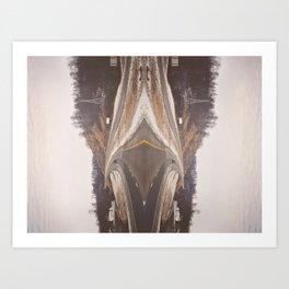 The Fast Lane 2 Art Print