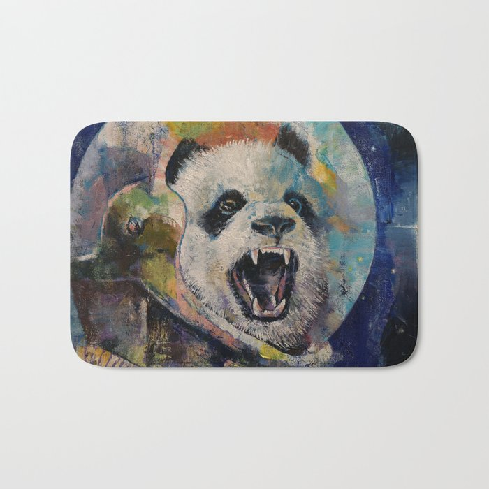 Space Panda Bath Mat