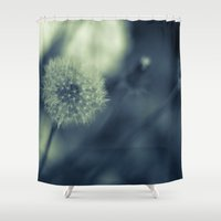 lions Shower Curtains featuring Dandy Lions by Dom Lopez