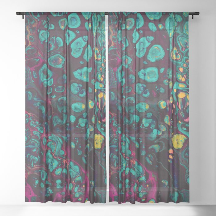 Crunchberries Sheer Curtain